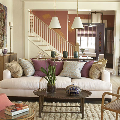 Romantic Living Room Inspiration | InnerPacific